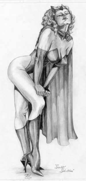 LA SORCIERE ROUGE ( Scarlet Witch ) 80016s