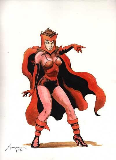 LA SORCIERE ROUGE ( Scarlet Witch ) 89ef1cae
