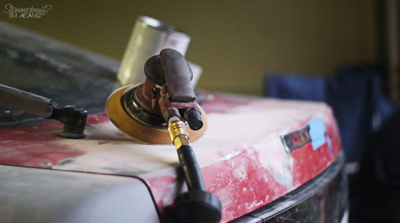 Jimmy's project racecar. Slammedenuffs 91 240sx. Cab50aca
