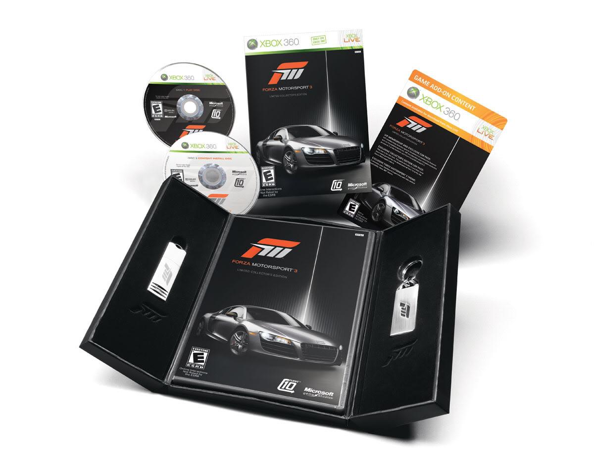 Forza Motorsport 3 Sweetness Forzapack