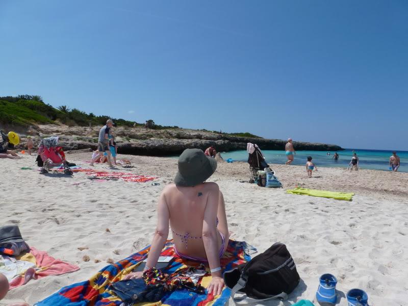 Balearic Islands, Cala'n Bosch. Marinda Garden. Menorca P1000219
