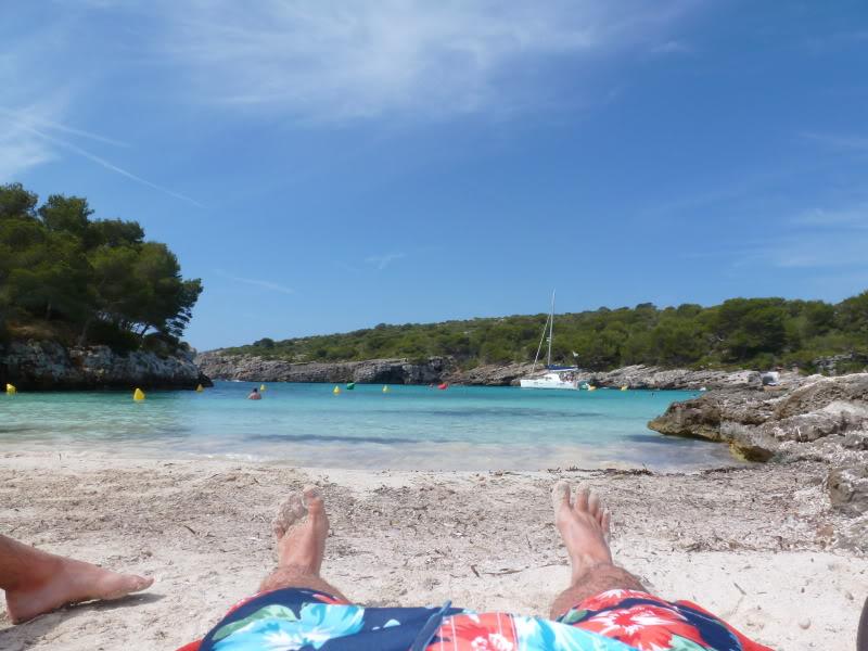 Balearic Islands, Cala'n Bosch. Marinda Garden. Menorca P1000251