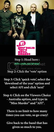AFI up for an AVMA! Voteafi