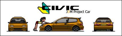 Los Dichosos Pixel Cars OrangeEG_Justin-1