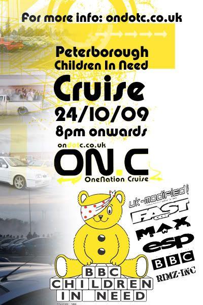 BBC Children In Need Cruise BBCCINPBOROCRUISE