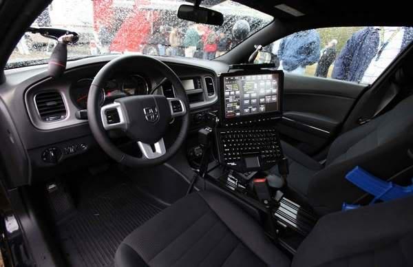 Laptops en vehiculos de la PF 2011interior