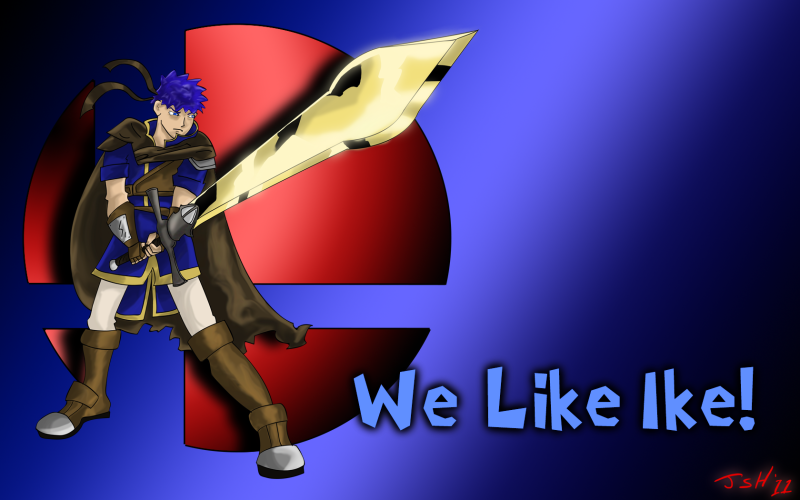 There Will Be Brawl Fanart - Page 34 We_like_ike_by_JSH2011