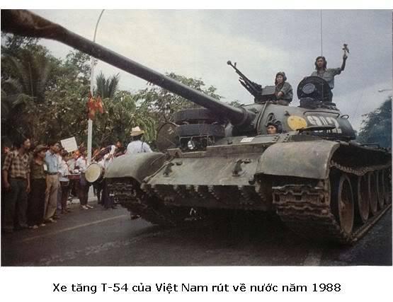 chiến tranh biên giới Tây Nam T-54