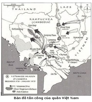 chiến tranh biên giới Tây Nam Map