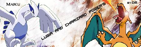 Criação de Heróis LugiaVSCharizard