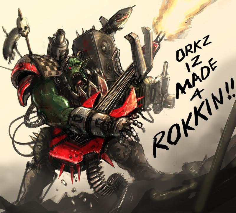 Funny 40K Orks