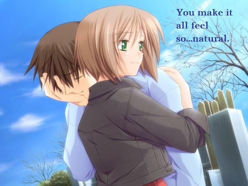 Sad Anime Couple Pictures, Images and Photos