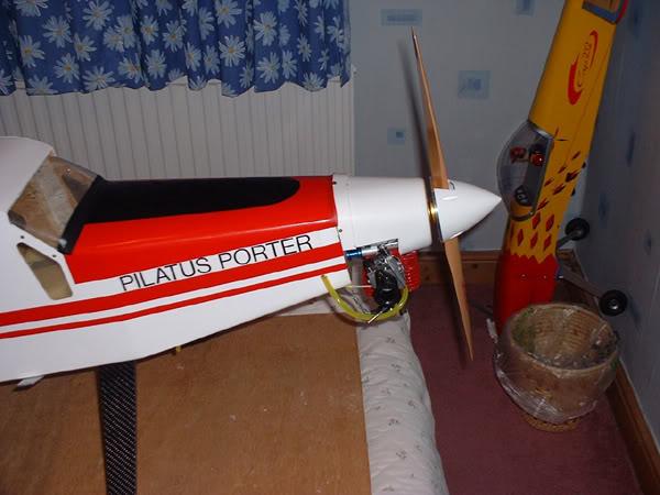 "Pilatus Turbo Porter 96"" Pilatusenginec"