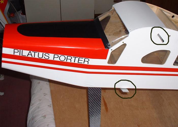"""Pilatus Turbo Porter 96"""" Pilatusnose1"""