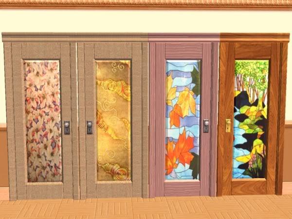 Diecisiete puertas mauritanias cristal y madera for Puertas de madera con cristal precio