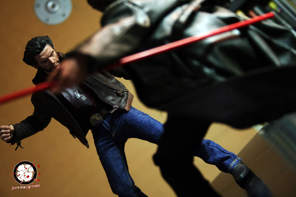 [Custom da Semana] Figura 1/6 Gambit X-men Origins Wolverine Gambit-6