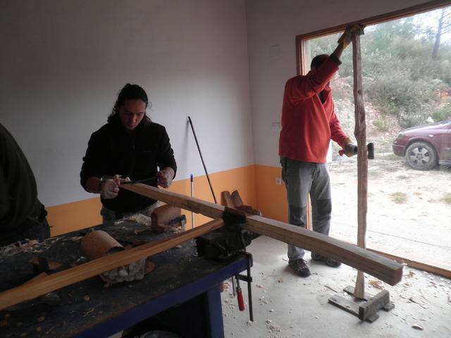 Curso de Construcción de Arcos P3210467