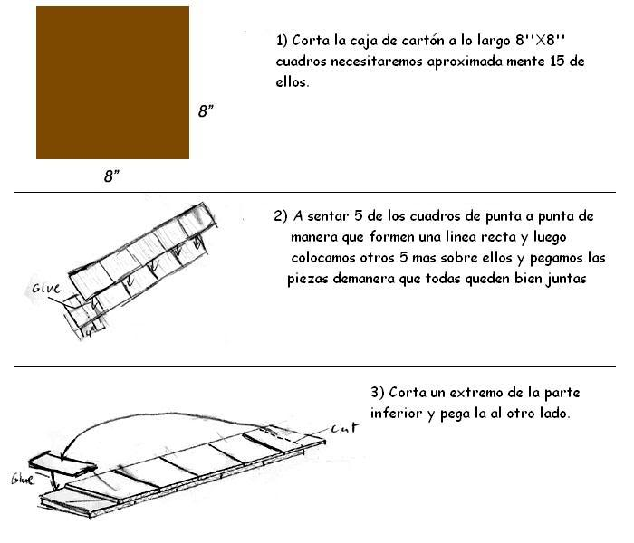 Tutoríal  Katana de carton Ck01v2