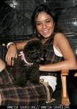 Vanessa i njen pas Shadow Thvanessa_anne_hudgens_1175646203