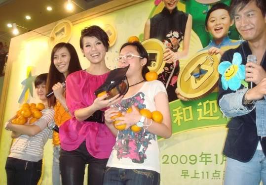 [2 February 2009] Myolie Wu Sings Her New Song 'Romantic Century' Starhub02