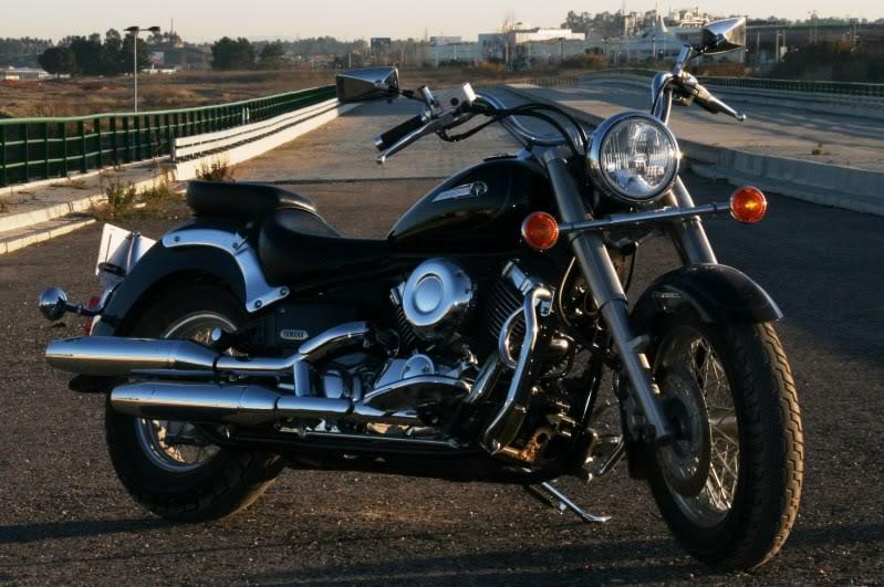 Drag Star 650cc Classic  (XVS 650), toda de origem. Drag3