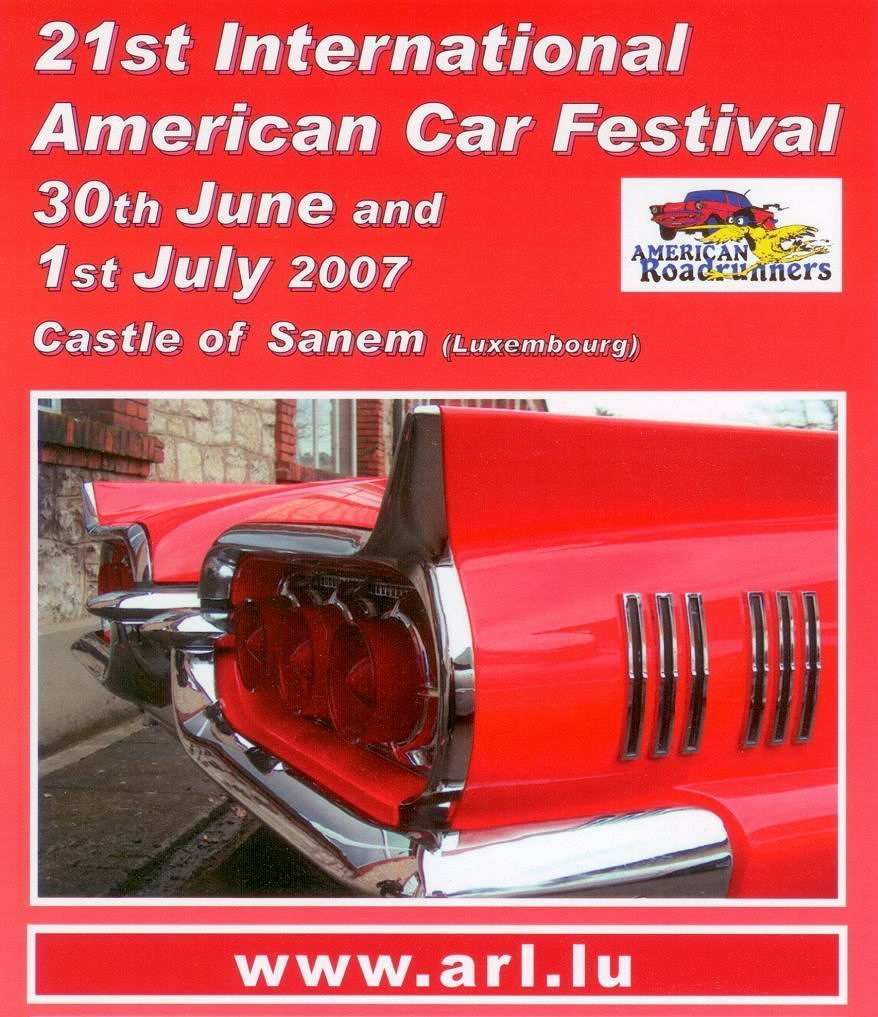 21st Int American Car Festival, Sanem Luxembourg 30/06-01/07 ARL2007