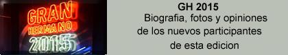 PARTICIPANTES DE GH 2015