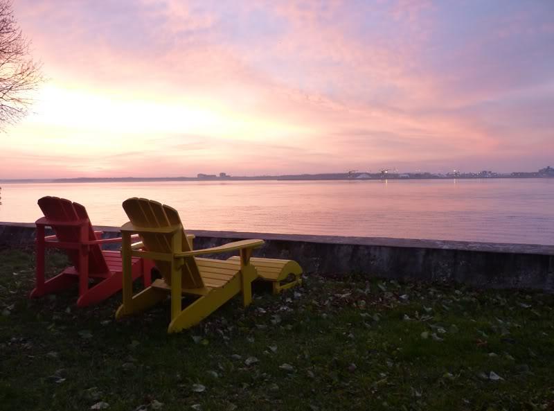 Lever du soleil chez moi ce matin à 5 h. 15.photo Novembre2011019