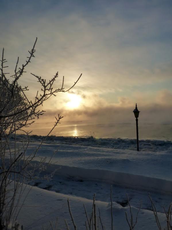 Lever du soleil chez moi ce matin à 5 h. 15.photo Janvier2012043