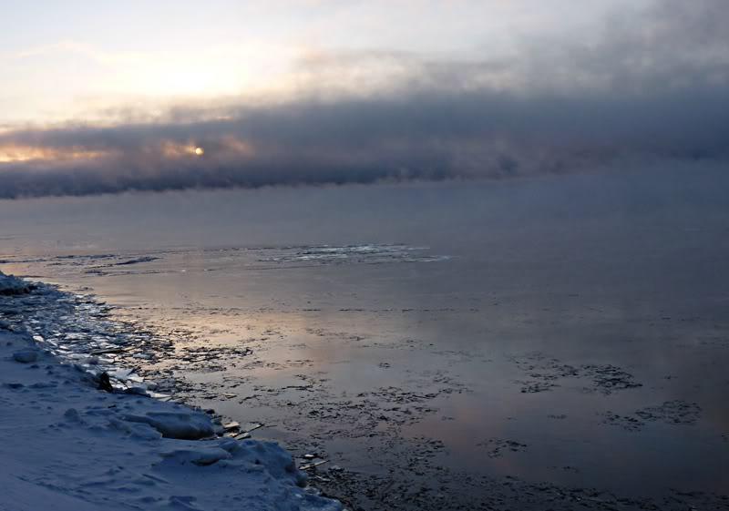 Lever du soleil chez moi ce matin à 5 h. 15.photo Fvrier2012165