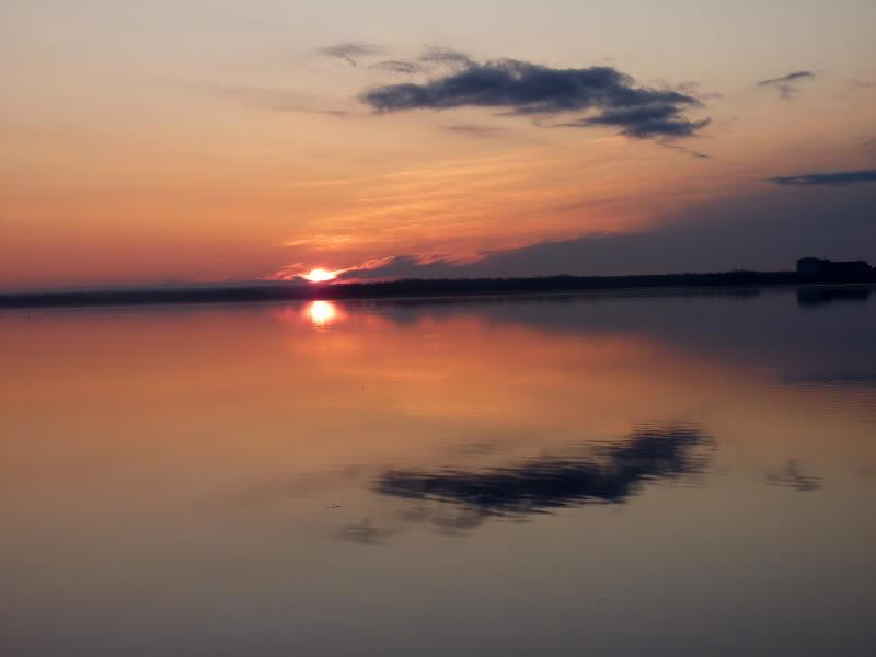 Lever du soleil chez moi ce matin à 5 h. 15.photo Octobre2011127