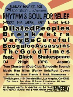 Breakestra (Soul from L.A.) - Live La Defense 26/03/2012 Rhythmforrelief_web