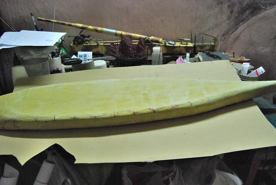 IJN Yamato 1/200 - Digital Navy Y_hull1