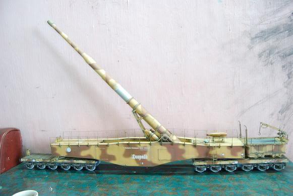 Mes maquettes non-naval Leopold