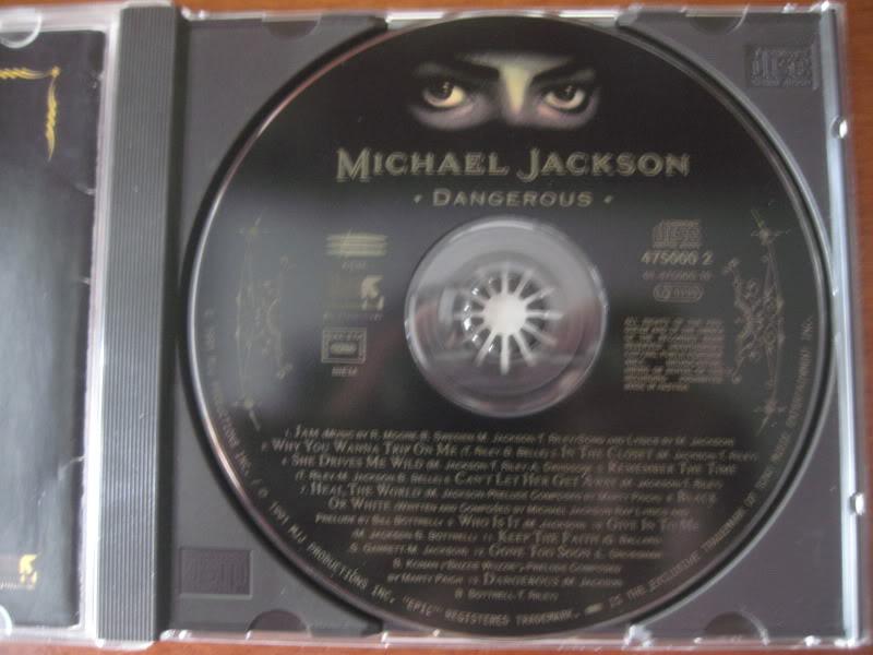 VENDO Album Dangerous '13 tracks' CD Limited Edition Italy 1993 IMG_5228
