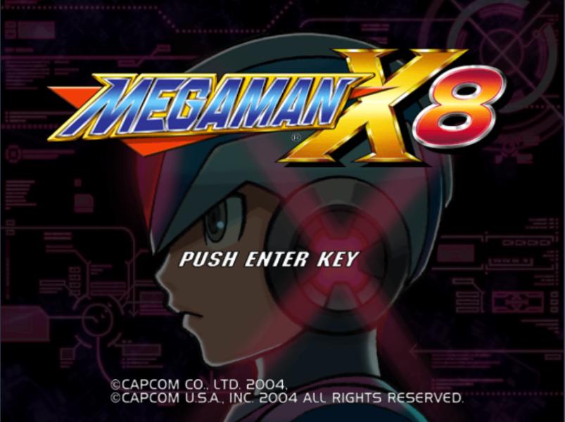 megaman X8 for PC 1-3