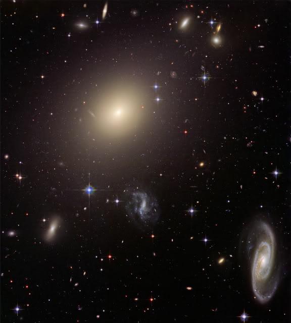 La matière noire toujours aussi obscure Galaxies