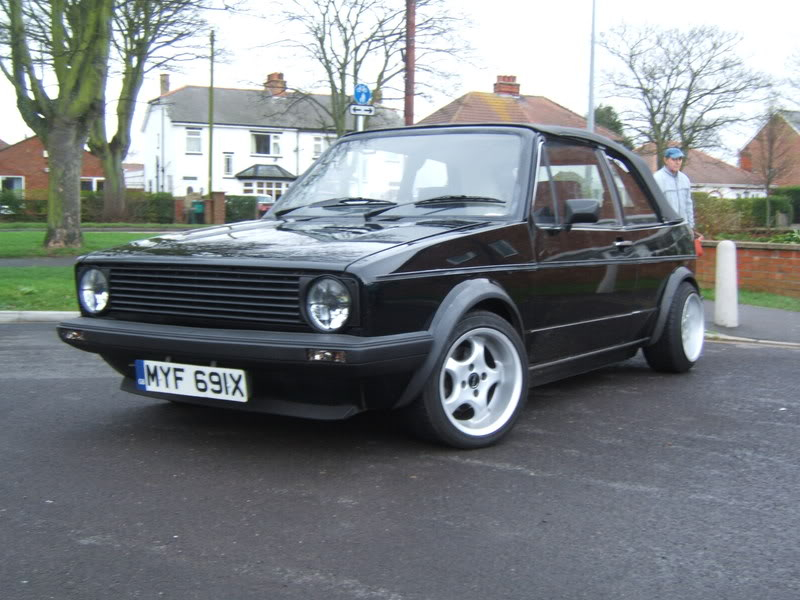 1982 mk1 cabby running project 2001