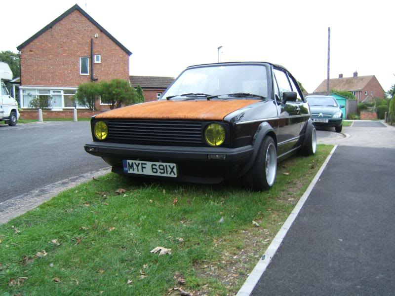 1982 mk1 cabby running project Y002