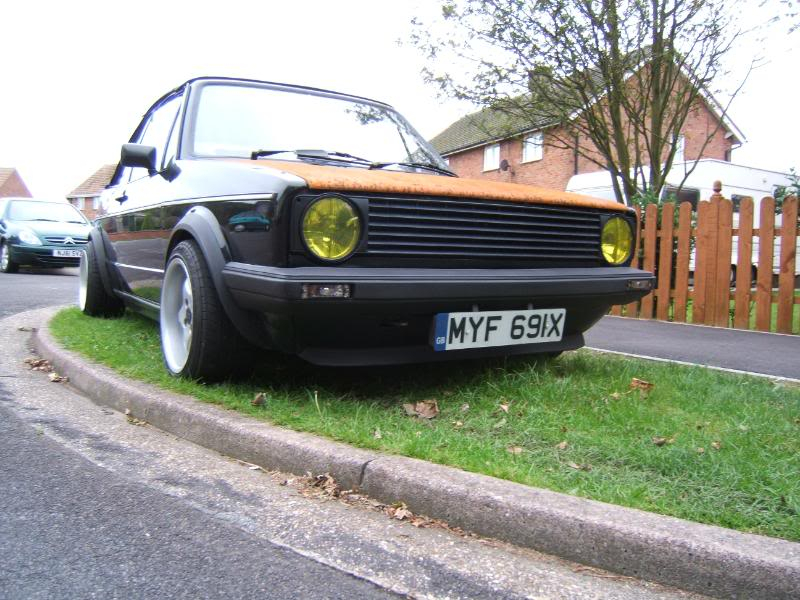 1982 mk1 cabby running project Y003