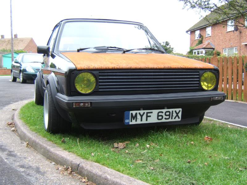 1982 mk1 cabby running project Y004