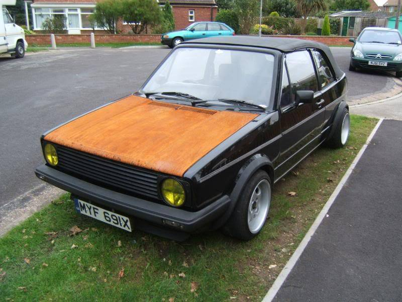 1982 mk1 cabby running project Y007