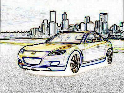 Effect creion Car2