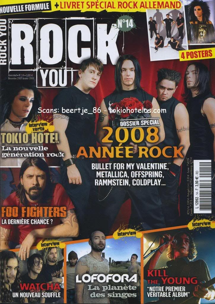 [scan FR 2007] Rock you n°14 Rockyou14071