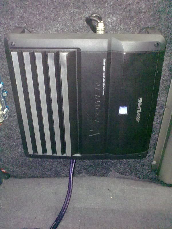 WTS Alpine mono amp and Rockford Fosgate P2 Subwoofer 25042010604