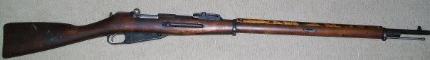 Le fusil M91 d'infanterie M91-1