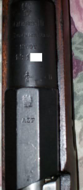 Le fusil M91 d'infanterie M91-2