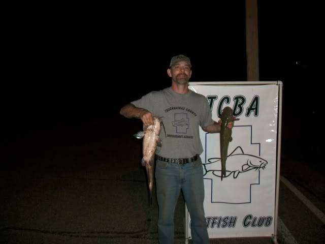 TCBA Ohio Catfish Tournament results for June 25th   100_0542