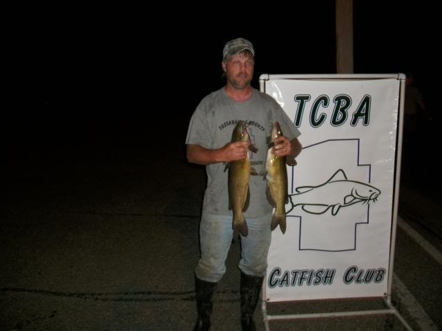 TCBA Ohio Catfish Tournament results for June 25th   100_0543