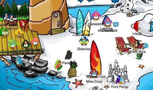 Clubpenguin News Summerparty